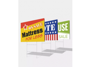 H Wire Stakes for yard sign
