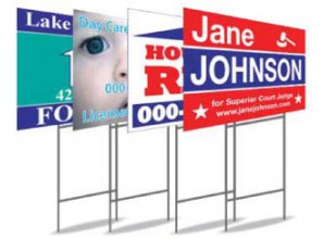 H stake and custom yard signs sheet custom security alarm yard sign stakes and post for lawn and gar