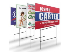 Sign Wire H Stakes for Coroplast Corrugated Yard Signs